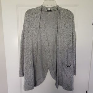 AMERICA EAGLE GRAY CARDIGAN WITH POCKETS